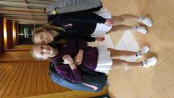 Klaudie a Valerie Huťkovi