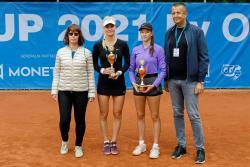 ZUBR CUP by OKsystem - poražené semifinalistky Monika Kilnarová, Dominika Šálková